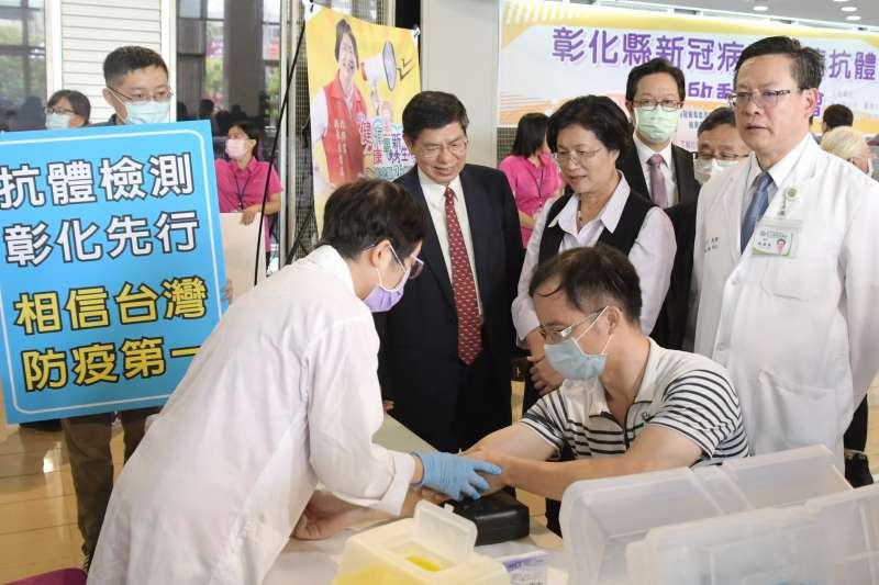 新冠肺炎仍持續延燒,而其疫苗在社會上卻還未能引起廣泛討論。(圖∕彰化縣政府提供)
