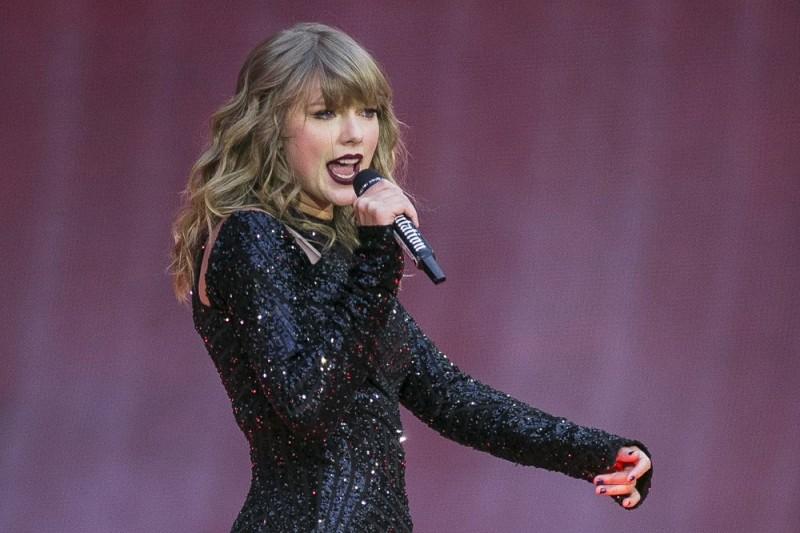 美國流行樂天后泰勒絲(Taylor Swift)。(AP)