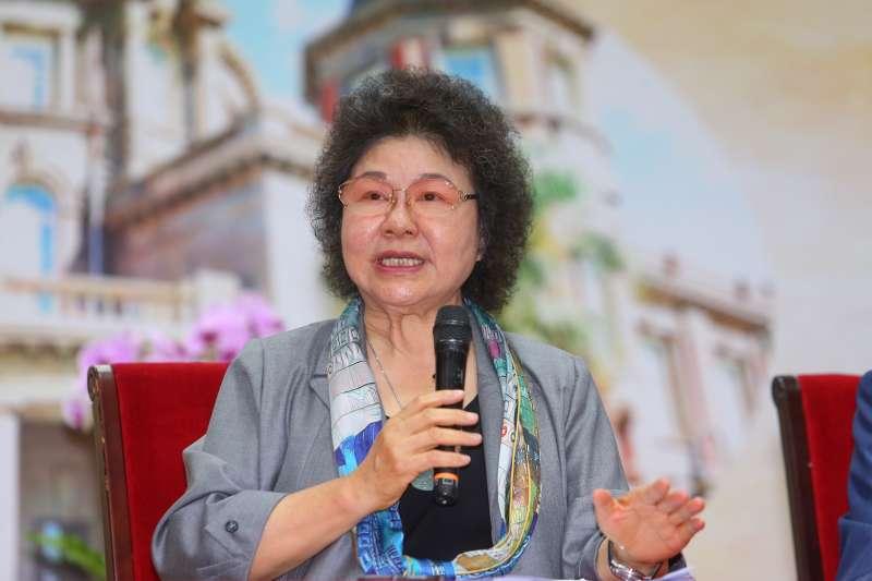 20200801-監察院長陳菊1日接受媒體採訪。(顏麟宇攝)