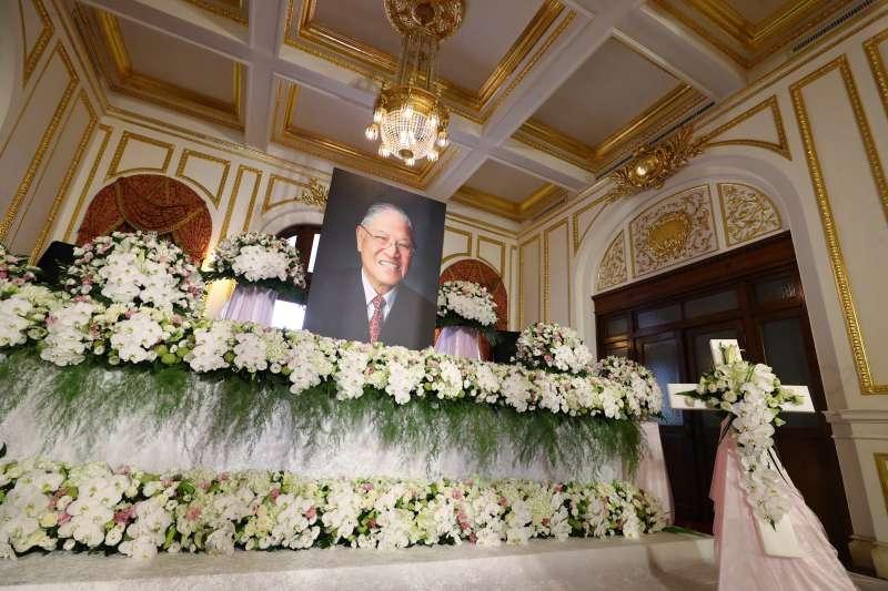 20200801-前總統李登輝7月30日病逝,台北賓館開放弔唁。(中央社提供)