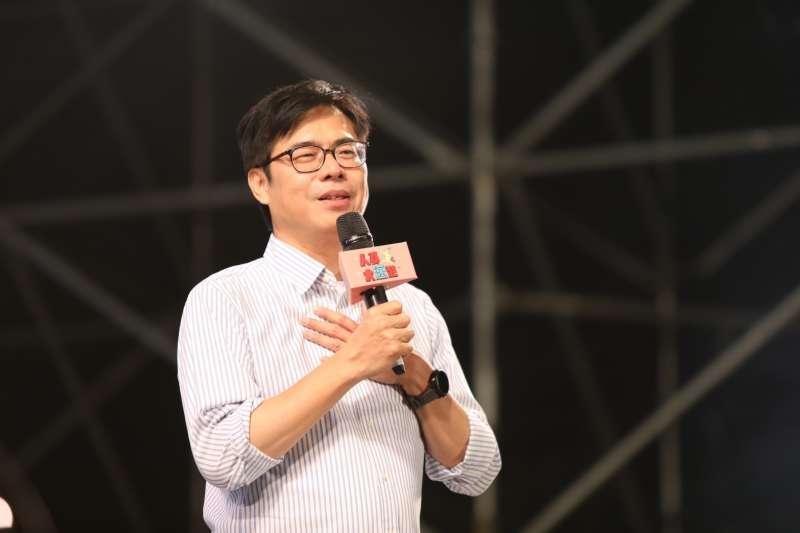 民進黨高雄市長補選候選人陳其邁。(陳其邁競選團隊提供)