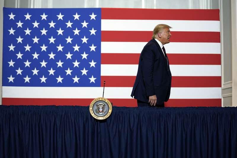 2020美國總統大選:現任總統川普(AP)