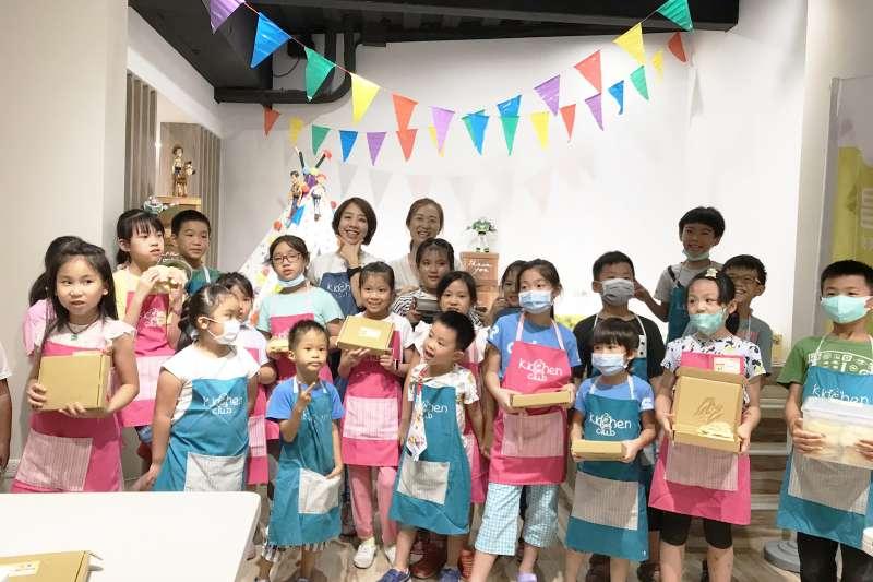 昌禾教育基金會引進知名美語料理團隊,在新竹首創「STEAM科學+料理夏令營」。(圖/昌禾教育基金會提供)