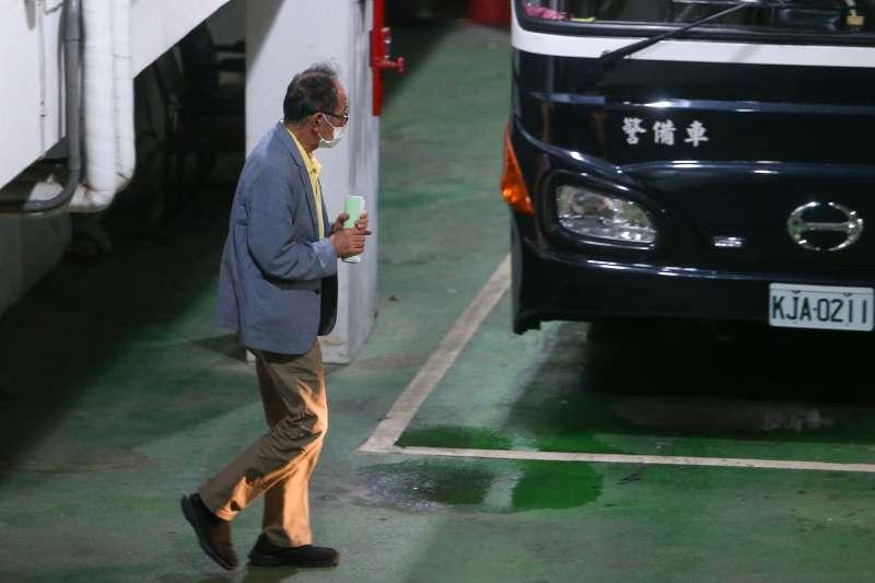 20200804-台北地院4日下午裁定立委陳超明羈押禁見。(顏麟宇攝)