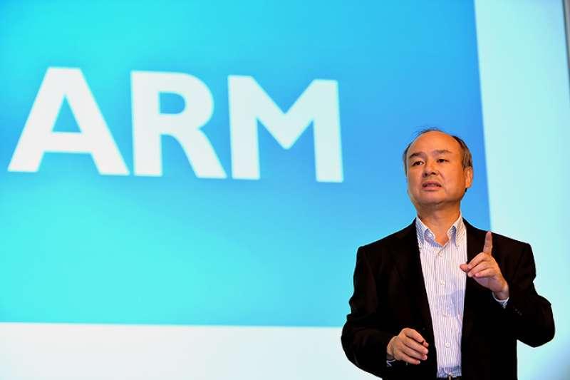 軟銀於2016年購併 ARM。(圖/取自softbank官網)
