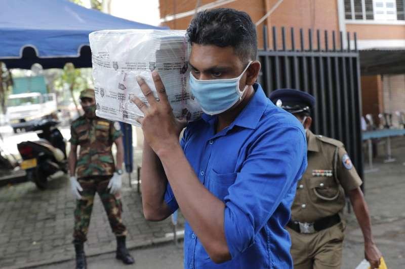 斯里蘭卡5日舉行國會選舉(美聯社)