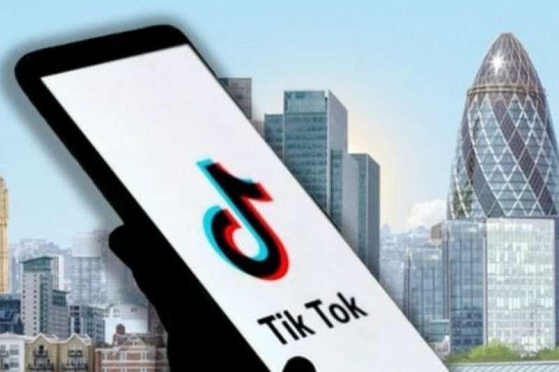 TikTok的中國母公司字節跳動正在考慮是否在倫敦設立總部。(圖/BBC中文網)