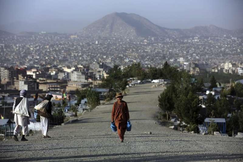 阿富汗首都喀布爾郊區(AP)
