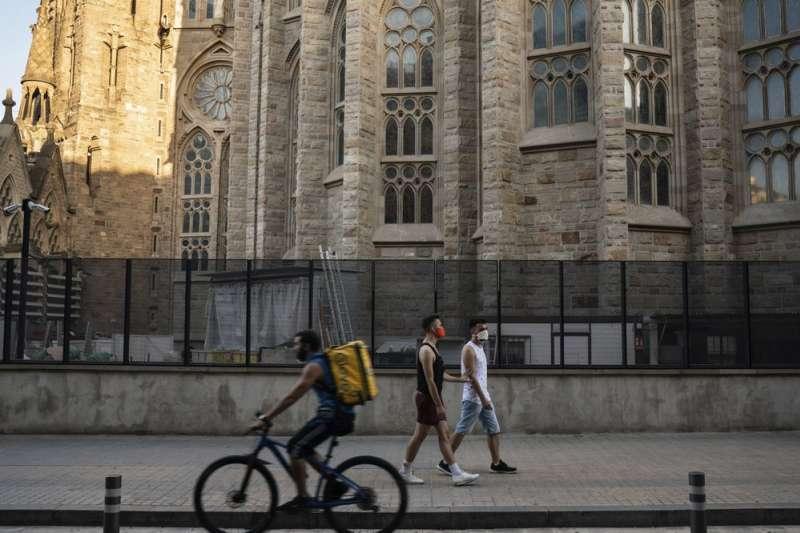 目前葛巴柯錫克與男友帕里克一起在西班牙巴塞隆納生活(美聯社)