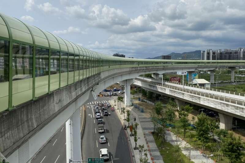 今年底台中首條捷運綠線即將通車,引出一波看漲潮,投資客搶進置產。(台中市政府提供)