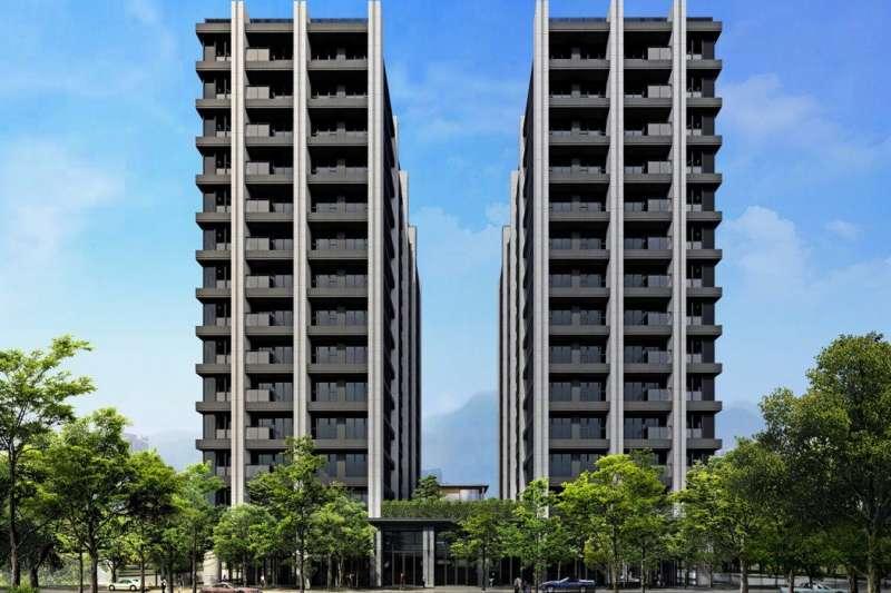 「着東騰」主力產品規劃178戶24~36坪二至三房格局。(圖/東騰開發)