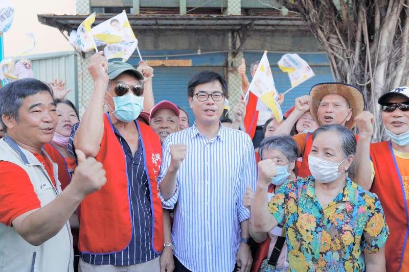 陳其邁提出三大措施盼高雄成為台灣南部國際觀光門戶。(圖/陳其邁競選總部提供)
