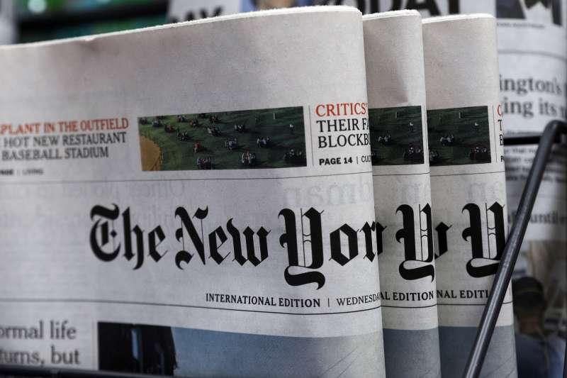 紐約時報兩個月前才有一篇文章以「台灣,疫情中的世外桃源」為題談台灣疫情,如今以「這一天遲早會來:台灣新冠疫情大暴發」下標,完全不留情面。(AP)