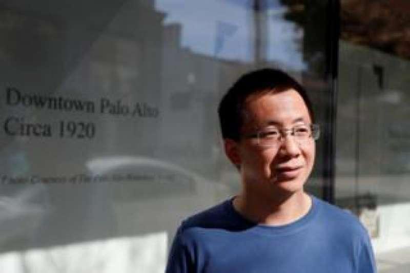 美國總統川普周一(8月3日)表示,如果TikTok未能在9月15日前完成出售,將在美國遭封禁。隨後張一鳴(圖)兩次向公司員工發出內部信。(圖/BBC中文網)