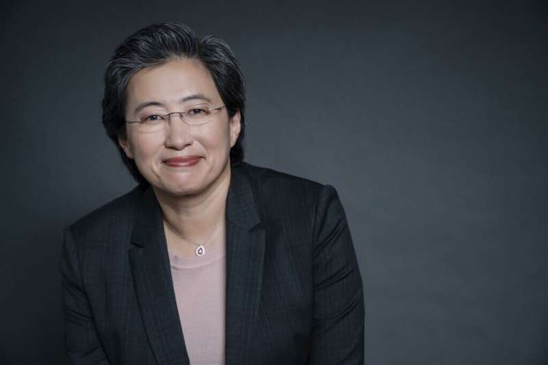 來自台灣的超微執行長蘇姿丰,帶領公司走出死亡幽谷(圖片來源:超微官方網站)