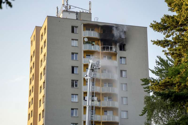 捷克一棟大樓疑遭縱火,奪走11條人命(AP)