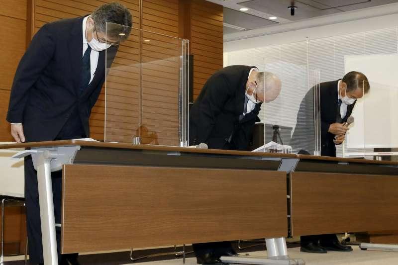 日本貨船「若潮號」2星期前在模里西斯淺海水域觸礁,導致逾1千噸燃油外漏,日本航運巨擘商船三井公司高層9日公開道歉(美聯社)