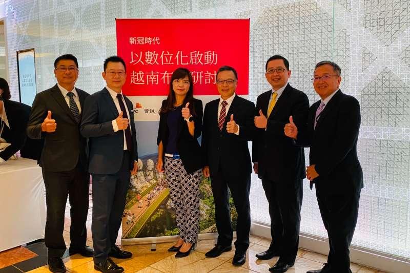 資誠越南智慧製造研討會上,專家表示,「越南」對臺灣企業的重要性持續上升,成長幅度最受矚目。(圖/資誠聯合會計師事務所提供)