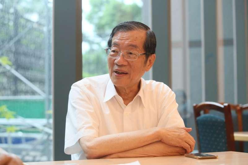 黃榮村將接考試院長一職,推動考試院轉型與轉軌工程。(柯承惠攝)