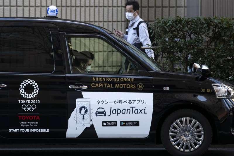 日本計程車(資料照,AP)