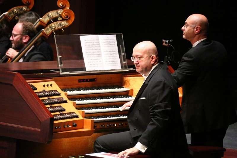 揚名國際的義大利管風琴家法吉亞尼將於10月11日登台演出。(圖/衛武營提供)