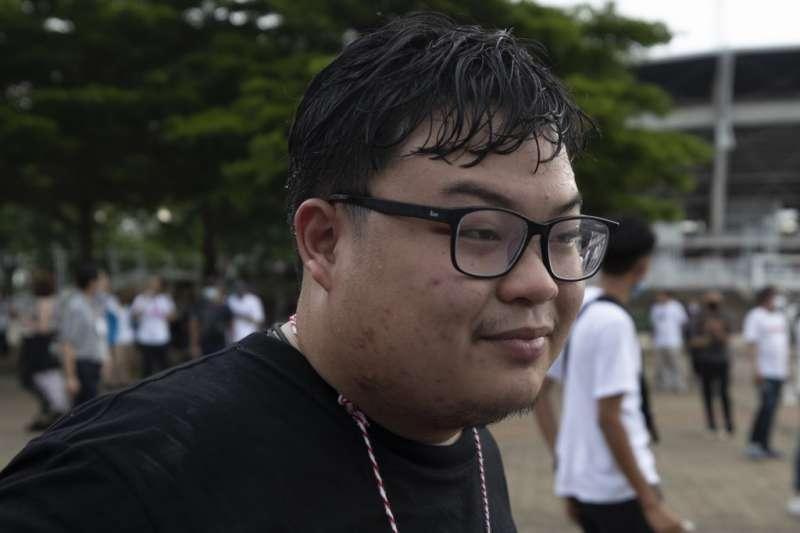 泰國知名學運領袖巴利14日遭警方逮捕(美聯社)