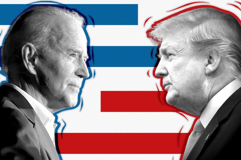 2020美國總統大選,川普vs.拜登(BBC)