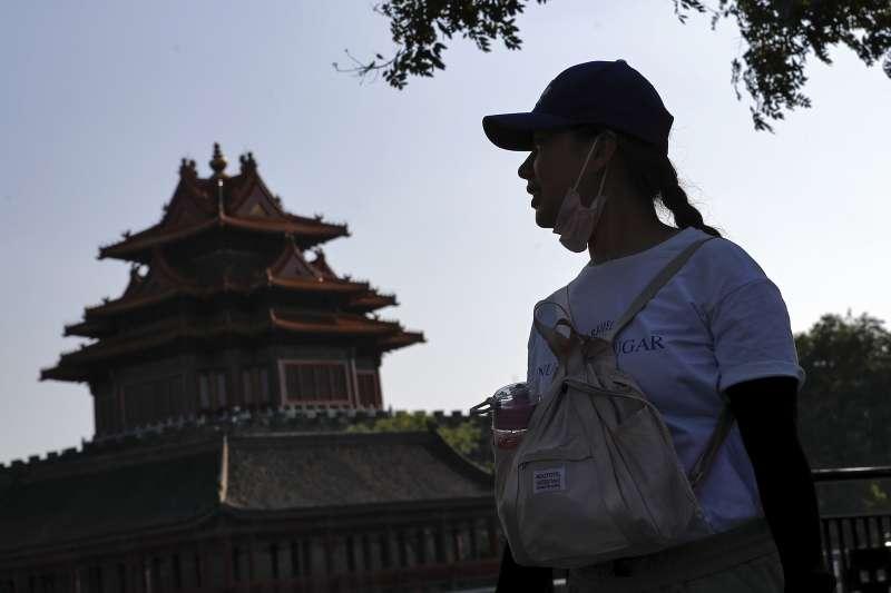 中國。新冠肺炎。北京。口罩(美聯社)