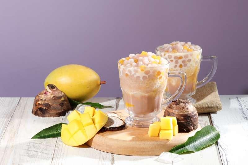 今夏最夯飲品楊枝芋露,顛覆口感,一吃難忘。(圖/清原芋圓提供)