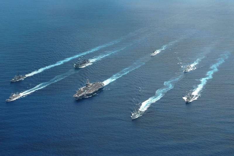 2004環太平洋軍演僅有美、澳、加、日、韓、巴西、智利等7國參與。(美國海軍官網)