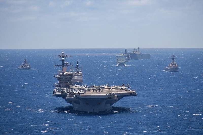 2018環太平洋軍演。(美國海軍官網)