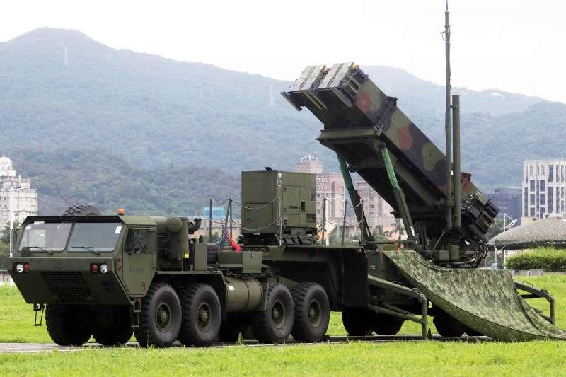 愛國者三型飛彈最大攔截距離70公里,最大攔截高度24公里。(蘇仲泓)