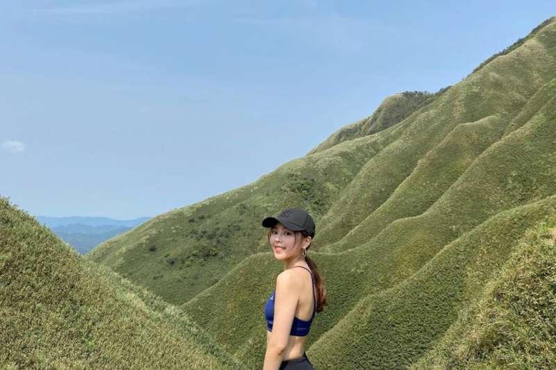 網美打卡山 &網美景點-抹茶山。(圖/攝影者:smile618an授權提供, Instagram)