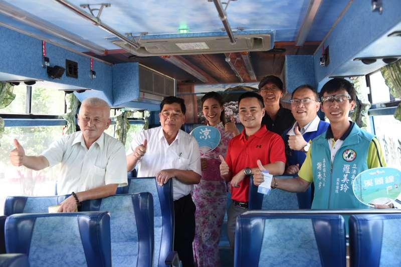 台灣好行清境及東埔兩條公車路線,8月19日正式通車。(圖/南投縣政府提供)