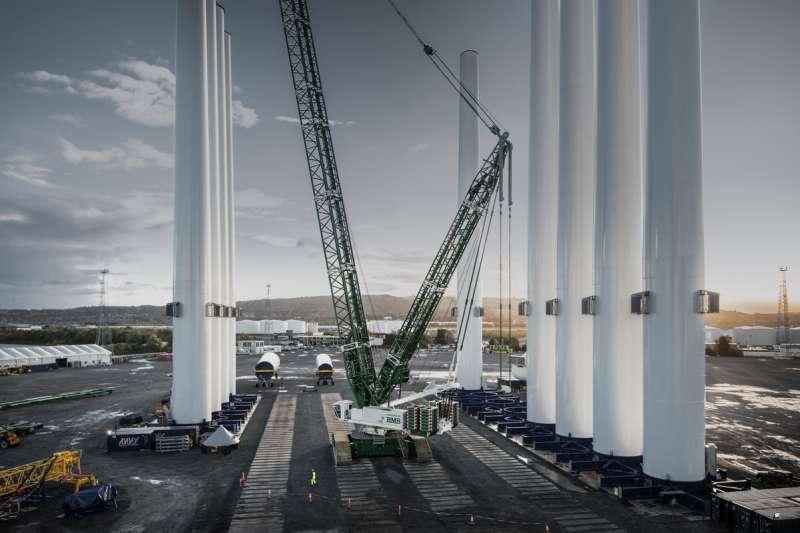 MHI Vestas與CS Wind金豐簽署塔架採購協議,展現積極發展本土供應鏈的作為。(MHI Vestas提供)