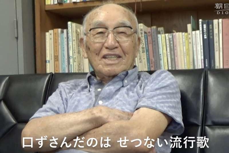 多胡恭太郎接受《朝日》專訪,娓娓道出二戰時的經歷。