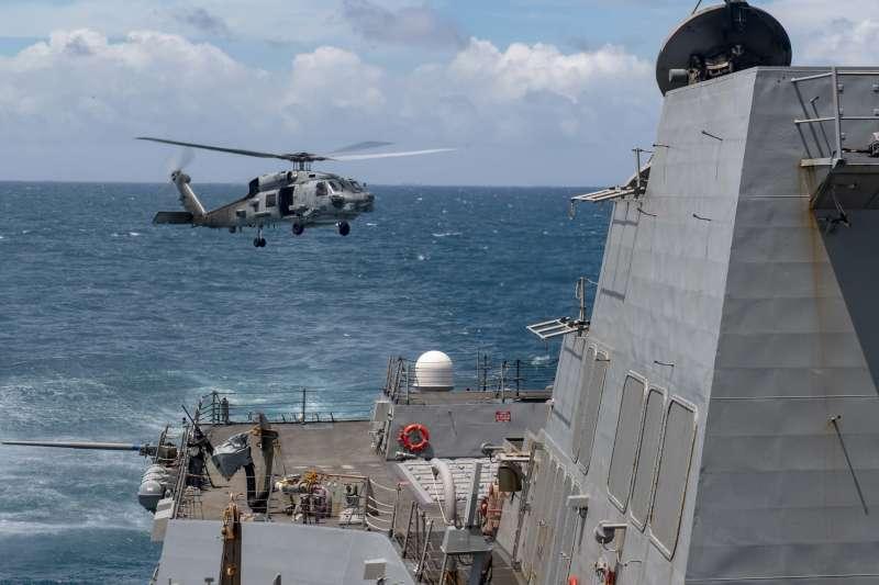 退將于北辰表示,美國總統川普的任期還有72天,這段時間反而是台灣最安全的時候。圖為美軍驅逐艦馬斯廷號。(資料照,取自美國海軍官網)