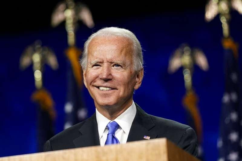 美國前副總統拜登接受提名後演說,僅一處提到中國:將把美國人所需要的醫療與防護設備生產線轉移回美國,讓美國不再遭受中國與其他國家的擺佈。(資料照,AP)