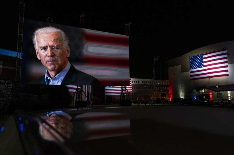 2020美國總統大選:前副總統拜登正式接受民主黨提名。(AP)