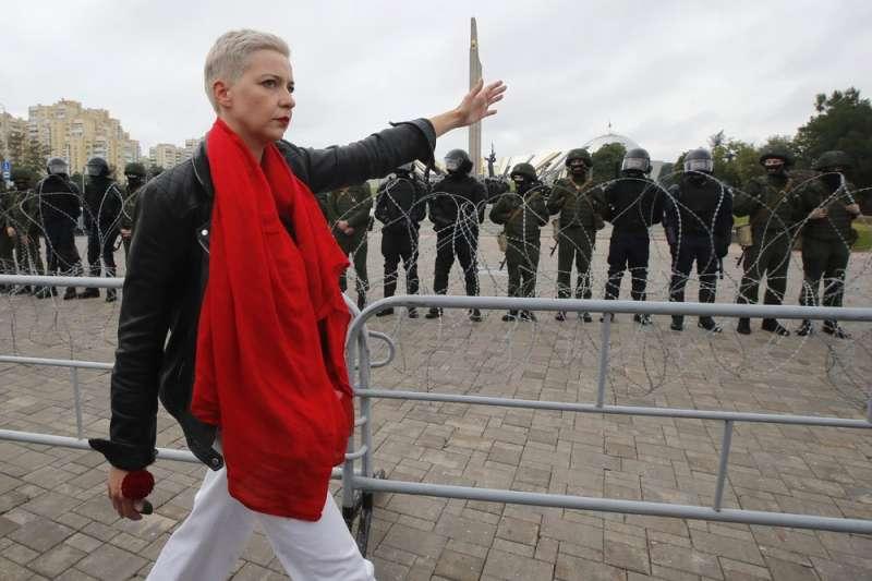 白俄羅斯 反對陣營 歌勒妮高娃(美聯社)