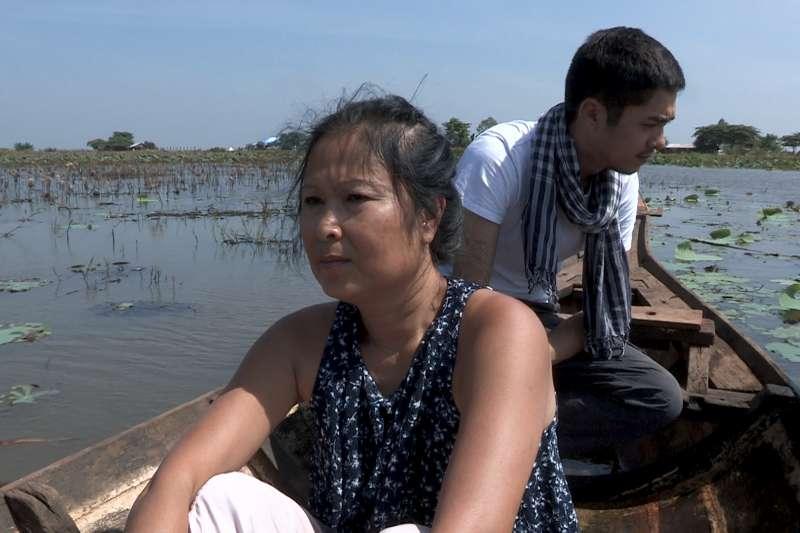 紀錄片《秘密的滋味》裡,受害者回顧紅色高棉血淚史(臺灣國際人權影展提供)