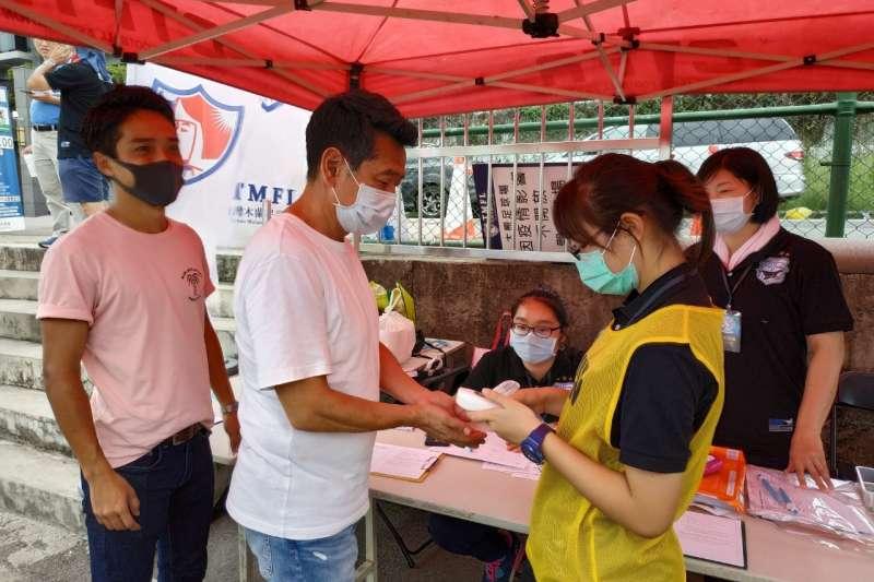 臺中市府對於體育運動賽事加強各項防疫作為。(圖/台中市政府提供)