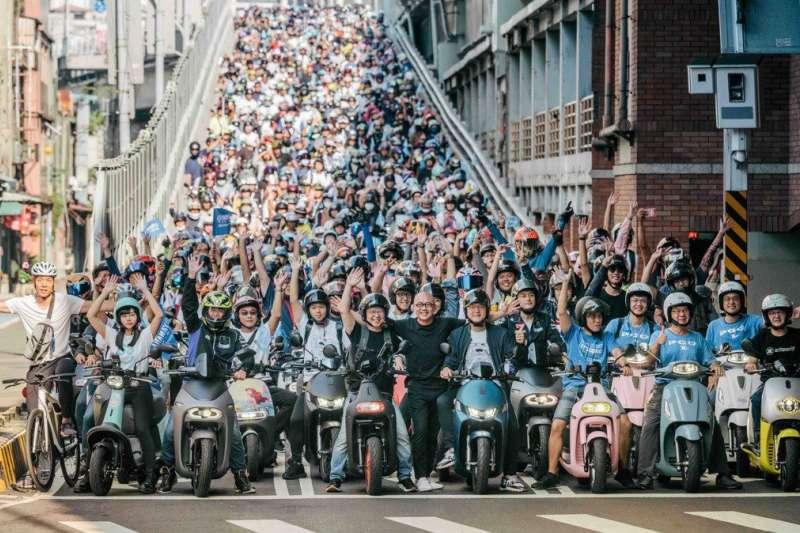 電動機車再次攻佔台北橋,齊聚PBGN聯盟、總人數破3500人次再創世界紀錄!綠能正流行,改變世界的力量需要有你!