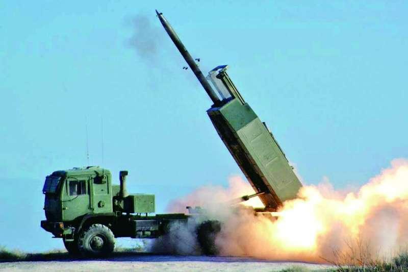 美方有意出售射程可達300公里的海馬士多管火箭系統給台灣。(翻攝自維基百科)
