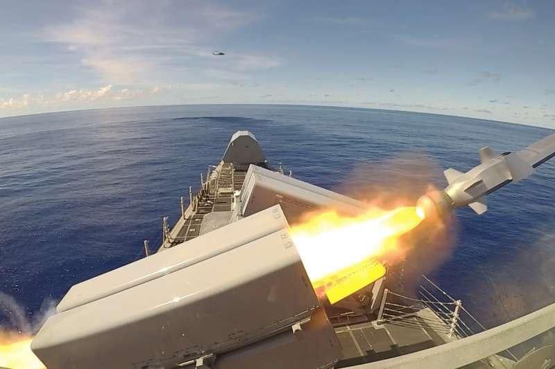 全球唯一第五代採匿蹤外型的NSM飛彈,比魚叉飛彈更為先進。(翻攝自維基百科)