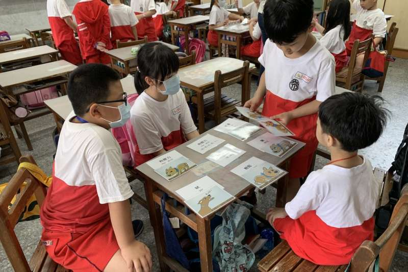 秀山國小推動客語十二年國教校訂課程上課情形。(圖/新北市教育局提供)