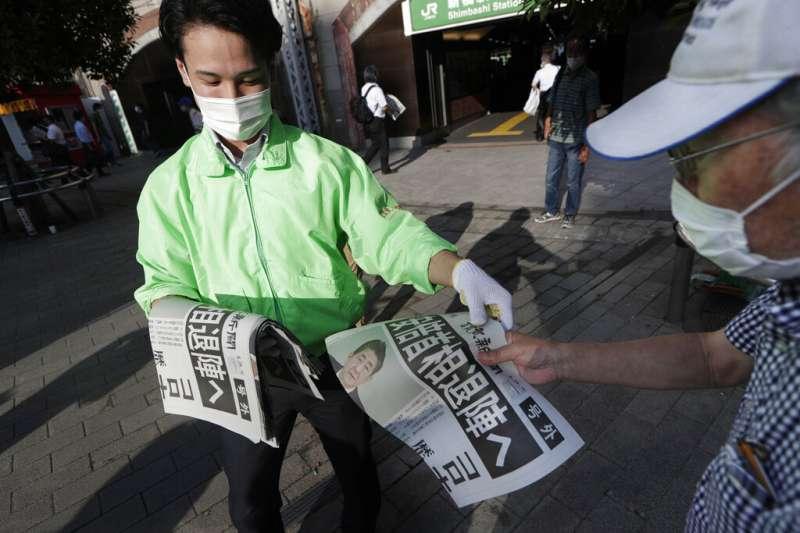 安倍晉三宣布請辭內閣總理大臣,成為日本今天最震撼的新聞。(美聯社)