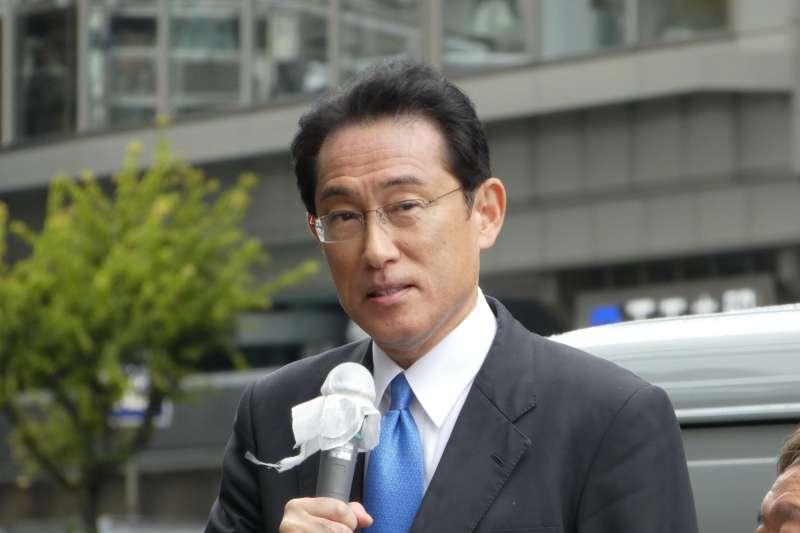 日本自民黨政調會長岸田文雄(Fumio Kishida)(切干大根@Wikipedia / CC BY-SA 4.0)