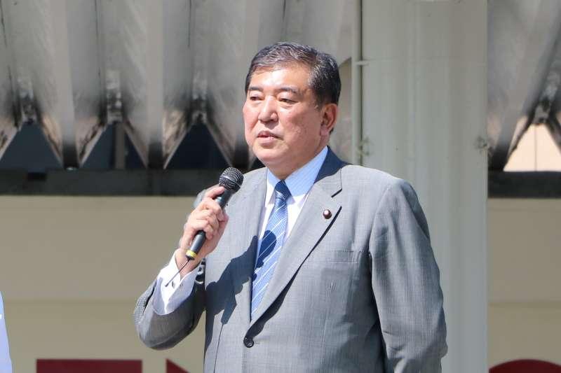日本前防衛相石破茂(Ishiba Shigeru)(さかおり@Wikipedia / CC BY-SA 4.0)