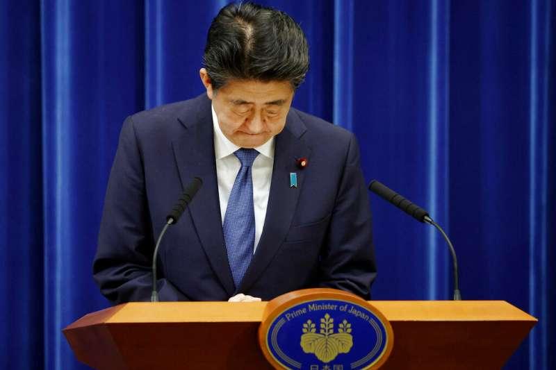 日本首相安倍晉三(見圖)因為健康因素請辭內閣總理大臣。(資料照,美聯社)